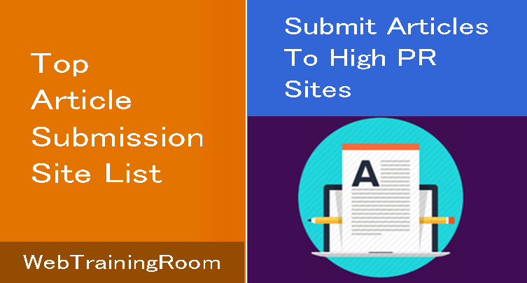 best article submission sites