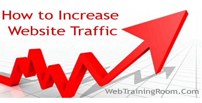 increase visitor traffic to website