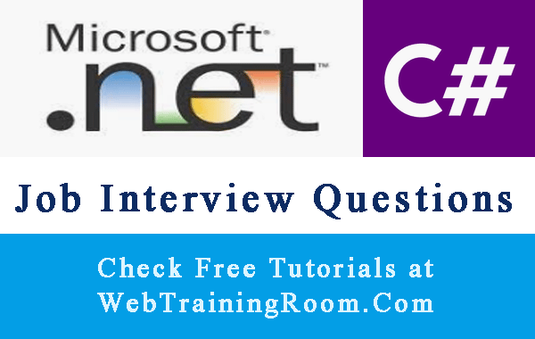 C# .net Interview Questions Answers