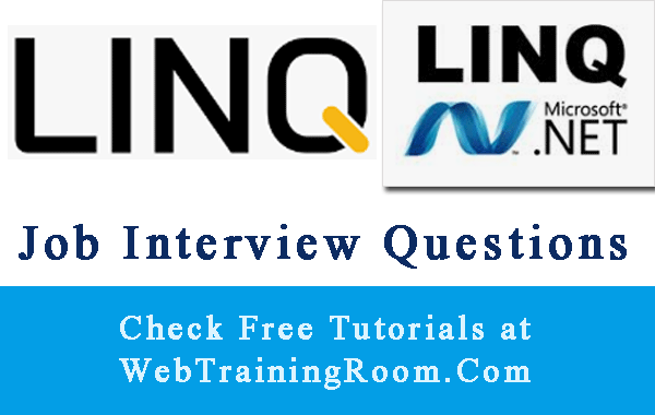 linq Interview Questions Answers