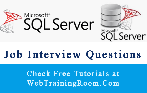 SQL job Interview Questions Answers