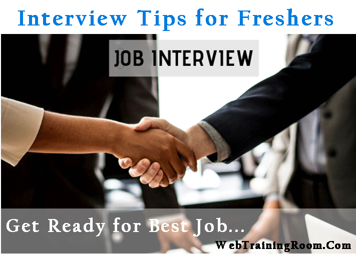 interview tips for freshers